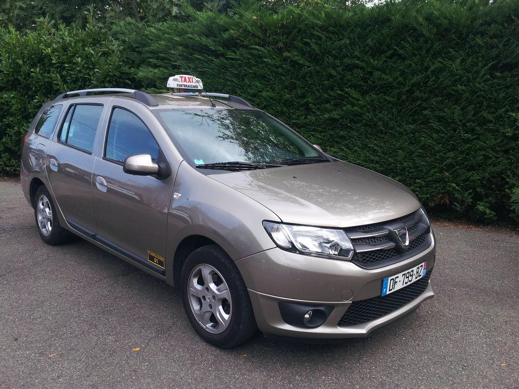 Taxi Fonbeauzard: Dacia
