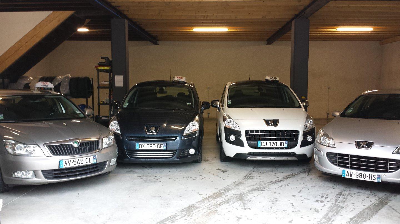 Taxi Viriville: Peugeot