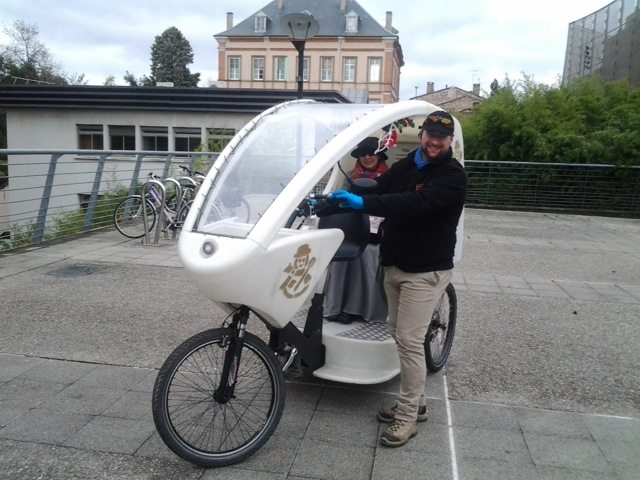 Vélo avec chauffeur Albi: