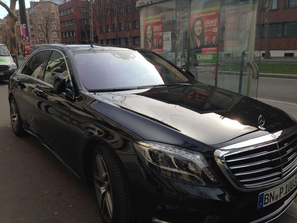 VTC Ivry-sur-Seine: Mercedes