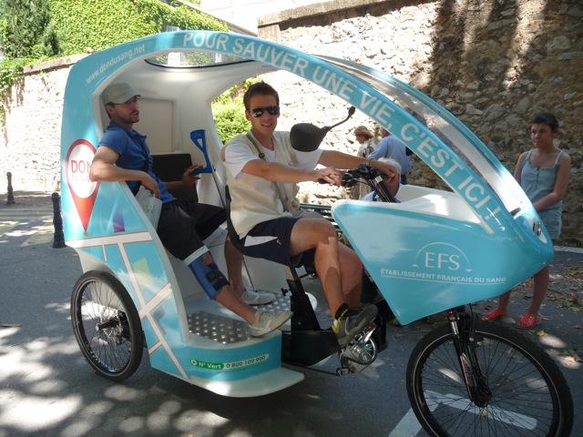 Vélo avec chauffeur Aix-en-Provence: