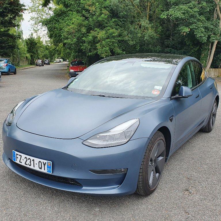 Taxi Villejuif: Tesla