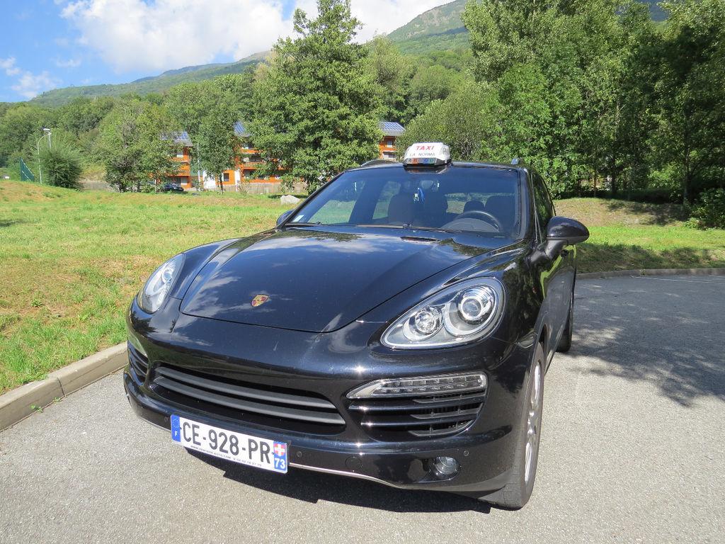 Taxi Aussois: Porsche