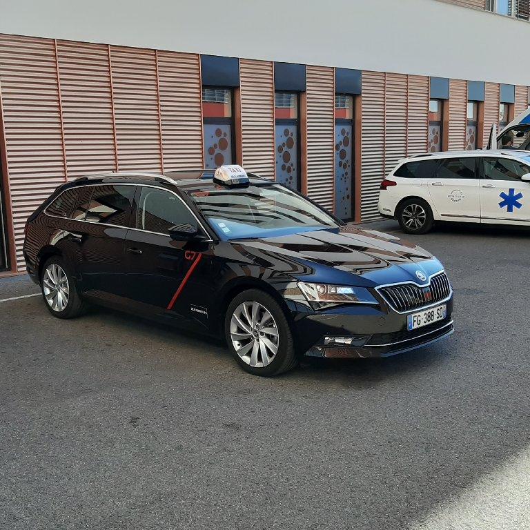 Taxi Isle-Aumont: Skoda