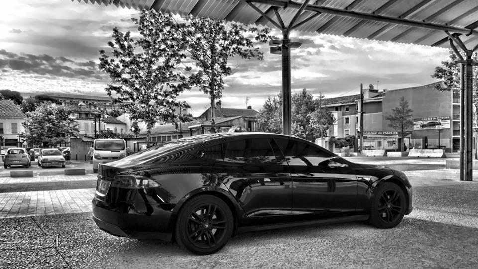 Taxi Salon-de-Provence: Tesla