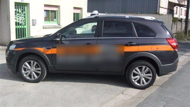 Taxi Rédené: Chevrolet