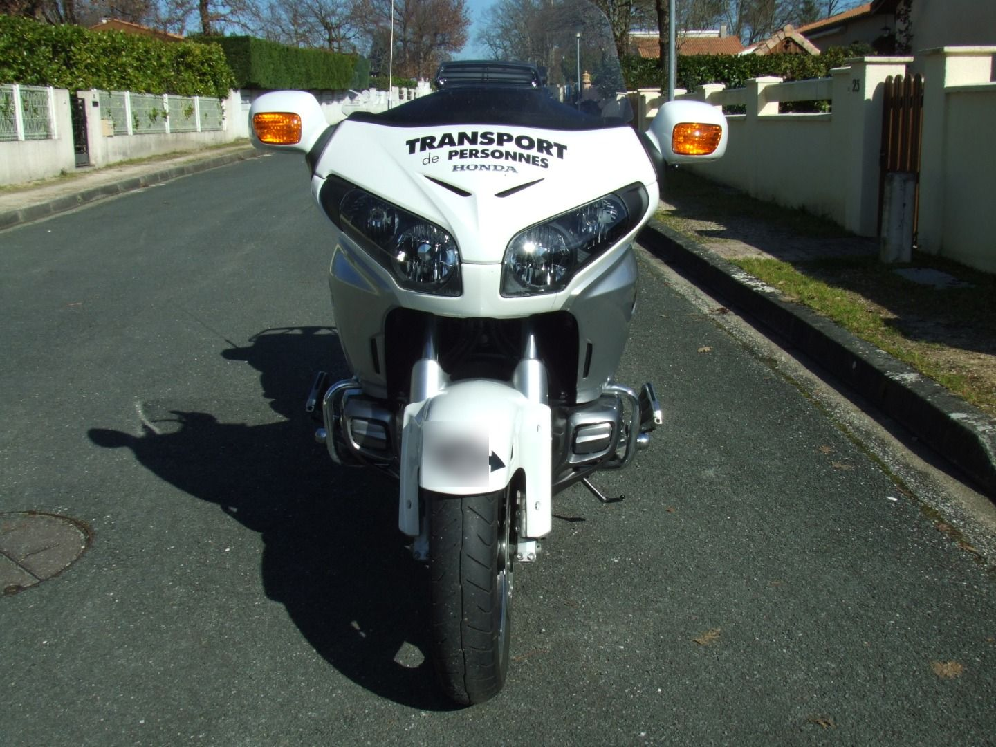 Motorcycle taxi Bordeaux: Honda
