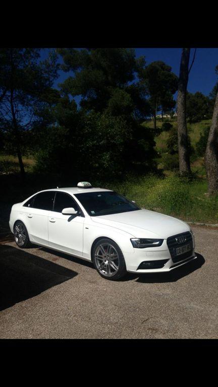 Taxi Bouc-Bel-Air: Audi