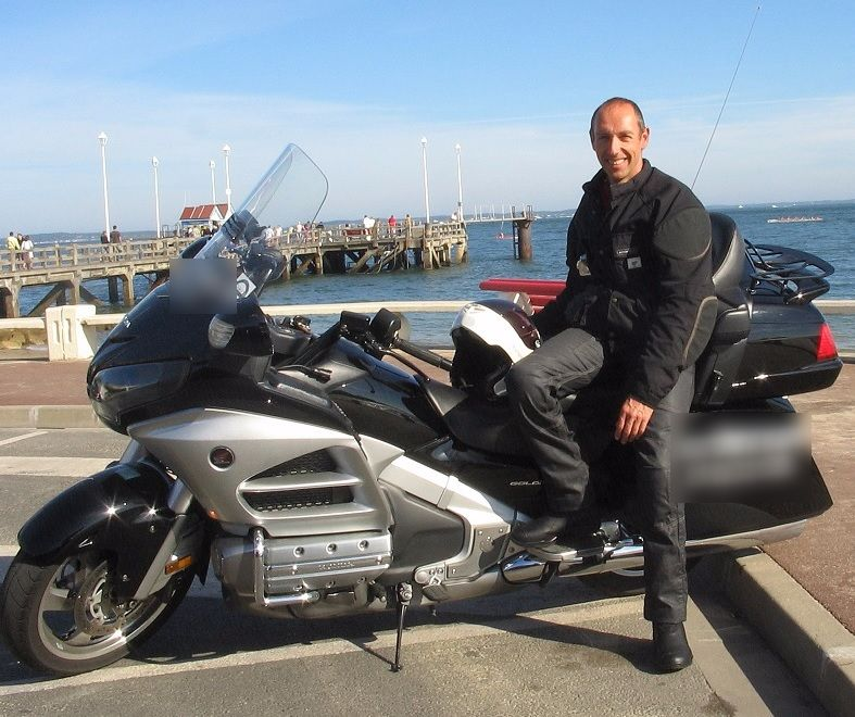 Motorcycle taxi Le Teich: Honda