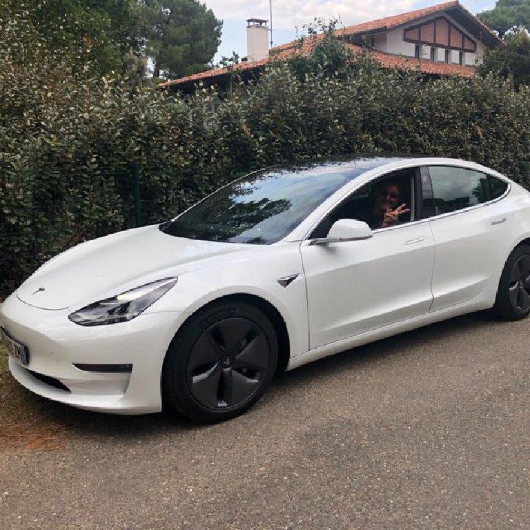 Taxi Seignosse: Tesla