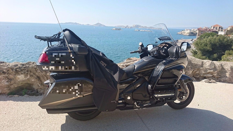 Motorcycle taxi Marseille: Honda