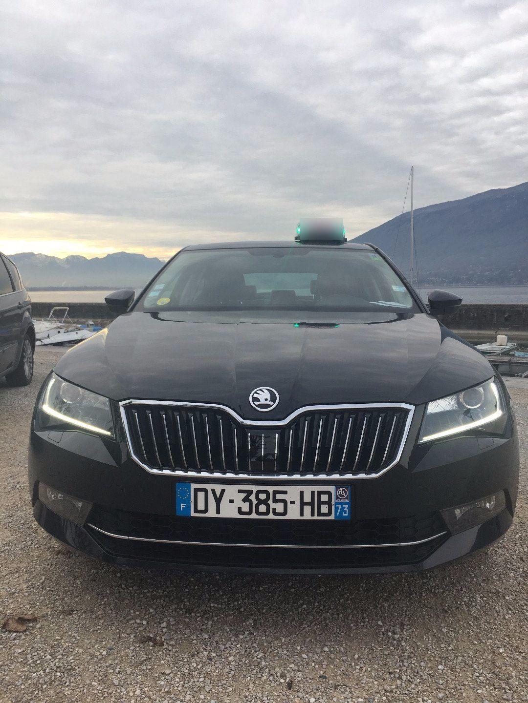 Taxi Aix-les-Bains: Skoda