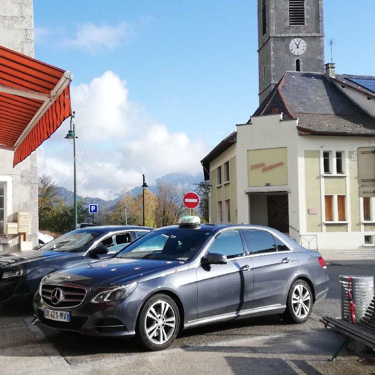 Taxi Albertville: Mercedes