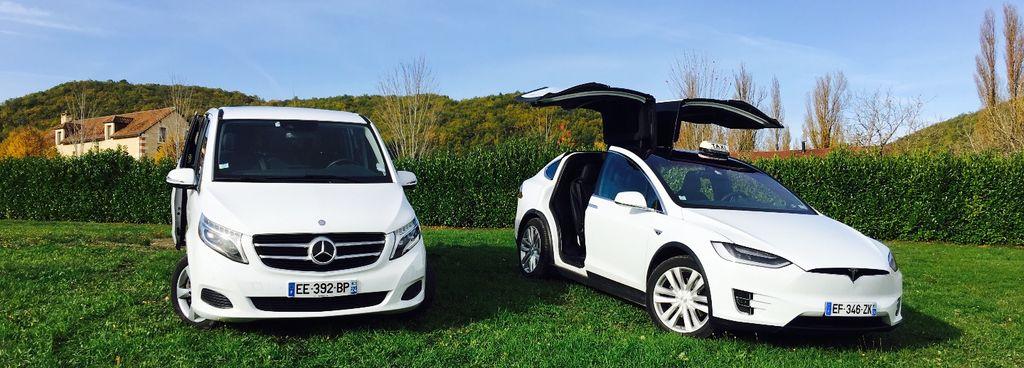 Taxi Saint-Vincent-de-Cosse: Mercedes