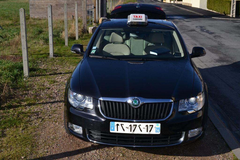 Taxi Cabourg: Skoda