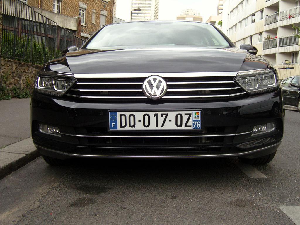 VTC Paris: Volkswagen