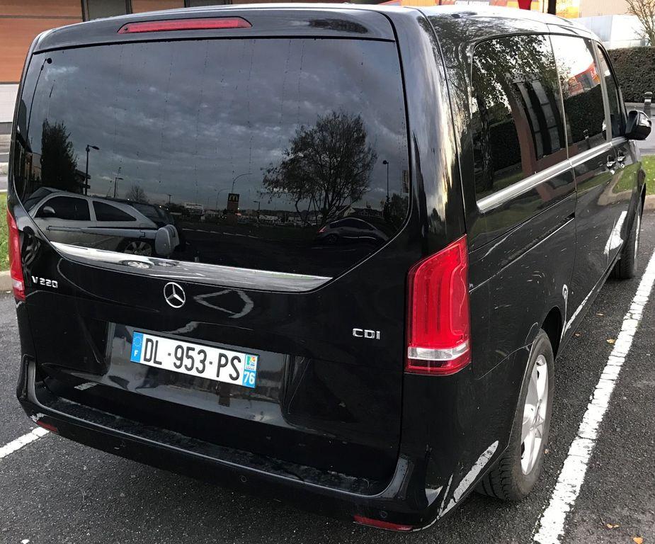 Taxi Chantilly: Mercedes