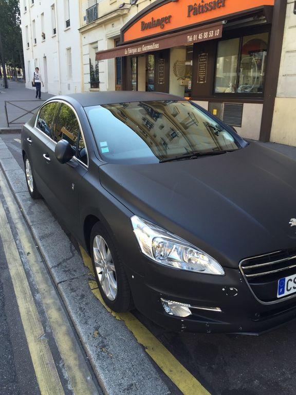 Taxi Paris: Peugeot