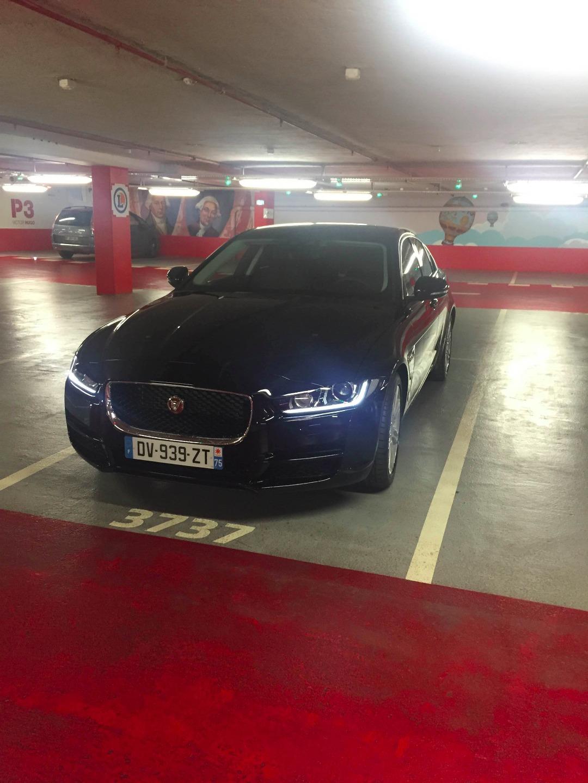VTC Paris: Jaguar