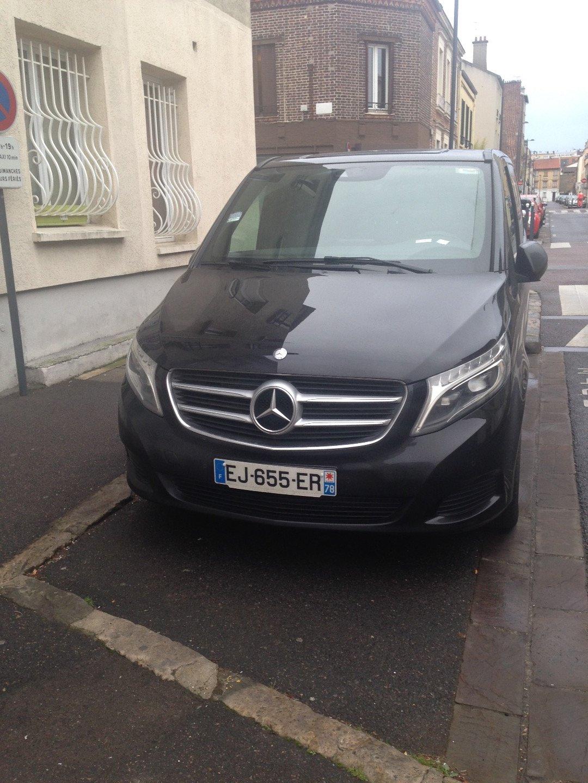 Taxi Vanves: Mercedes
