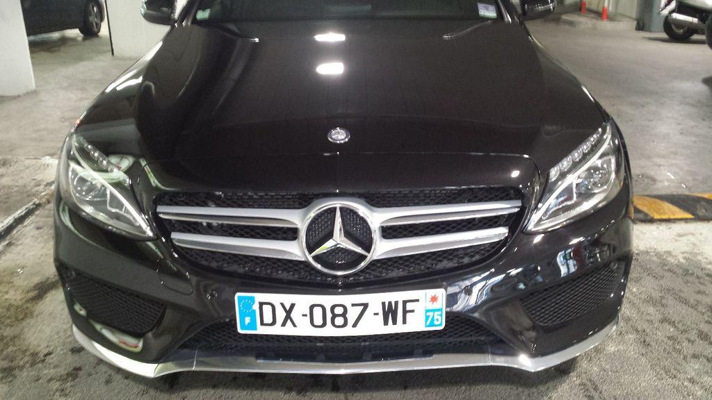 Taxi Paris: Mercedes