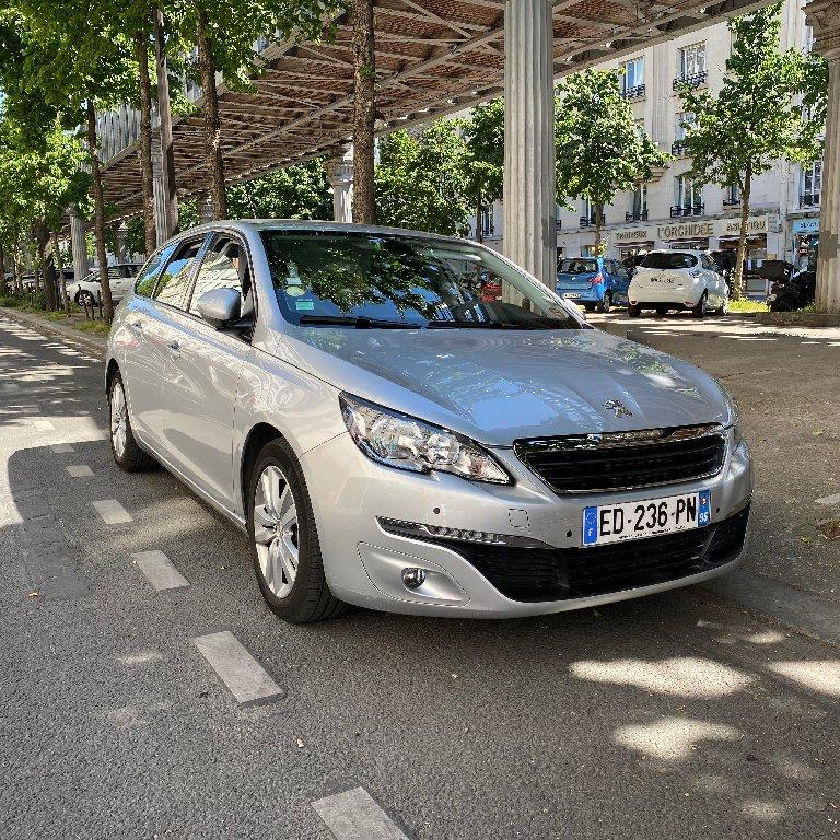 VTC Puiseux-en-France: Peugeot