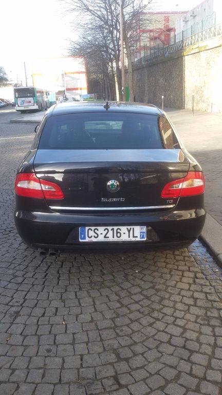 Taxi Puteaux: Skoda