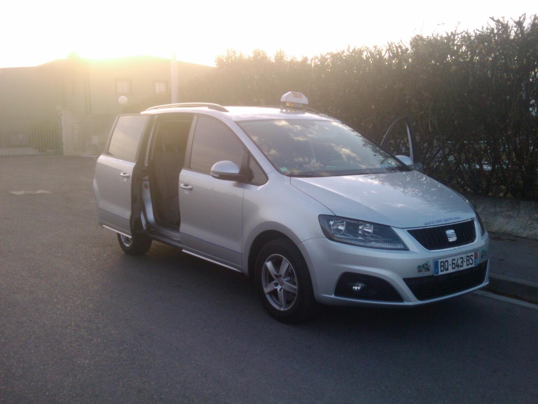 Taxi Nîmes: Seat