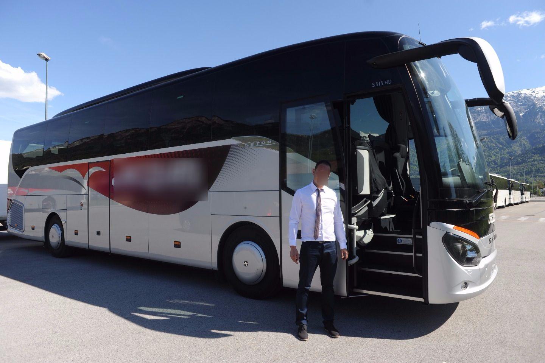 Coach provider Marnaz: Setra