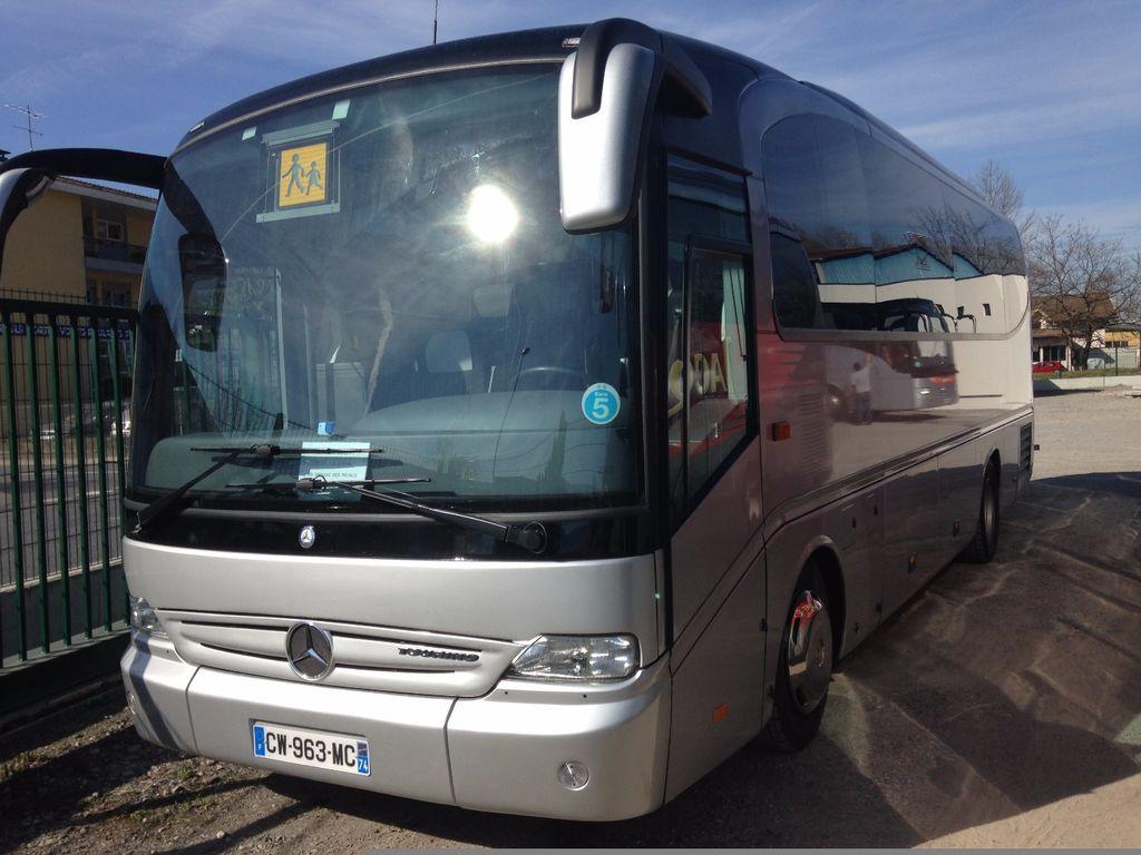 Coach provider Marnaz: Mercedes