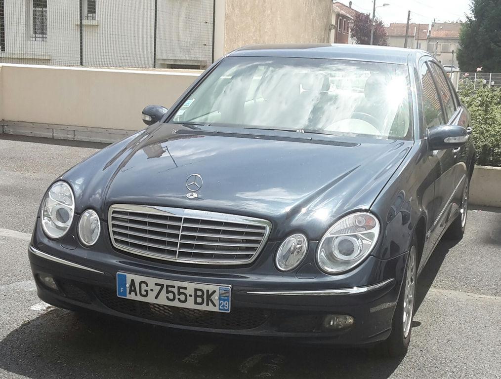 Taxi Reims: Mercedes