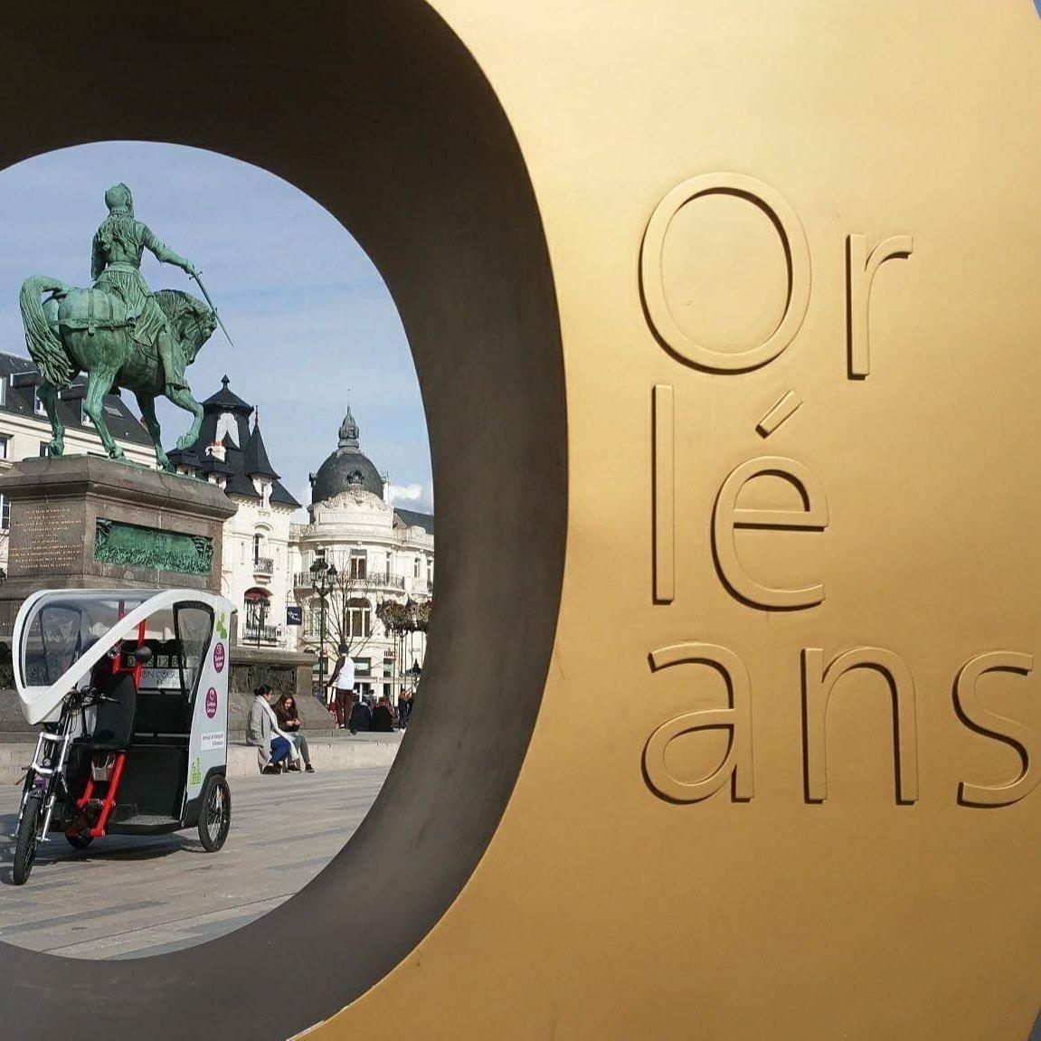 Vélo avec chauffeur Orléans: