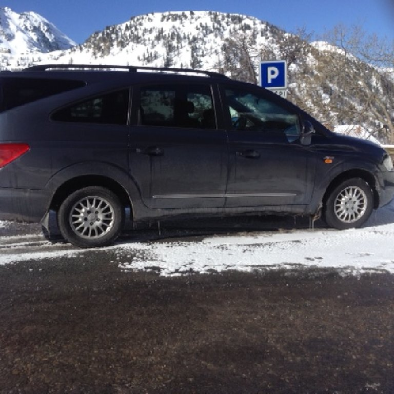 Taxi Isola: Ssangyong