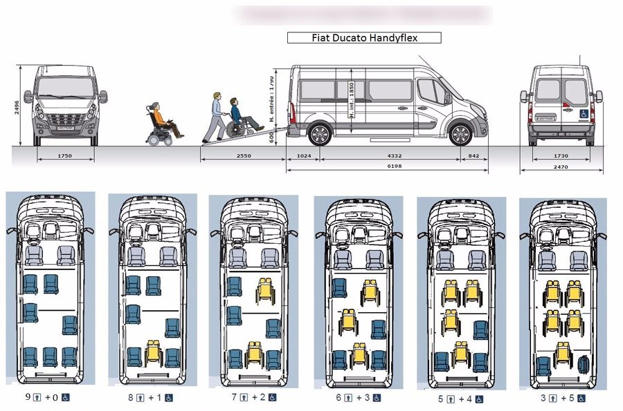 Taxi Balschwiller: Fiat
