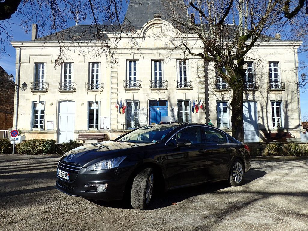 Taxi Thédirac: Peugeot