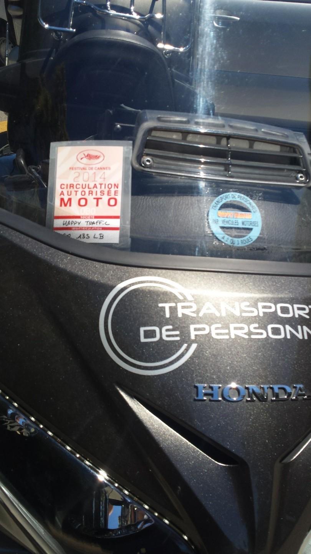 Moto avec chauffeur Cagnes-sur-Mer: Honda