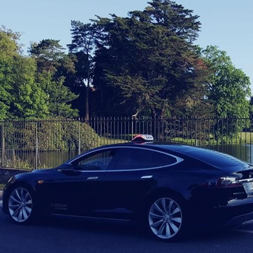 Taxi Redon: Tesla