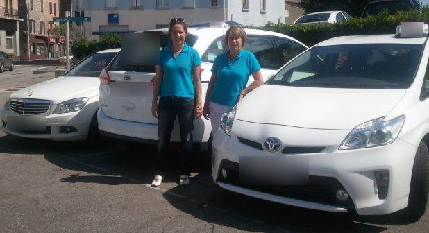 Taxi Le Teil: Toyota