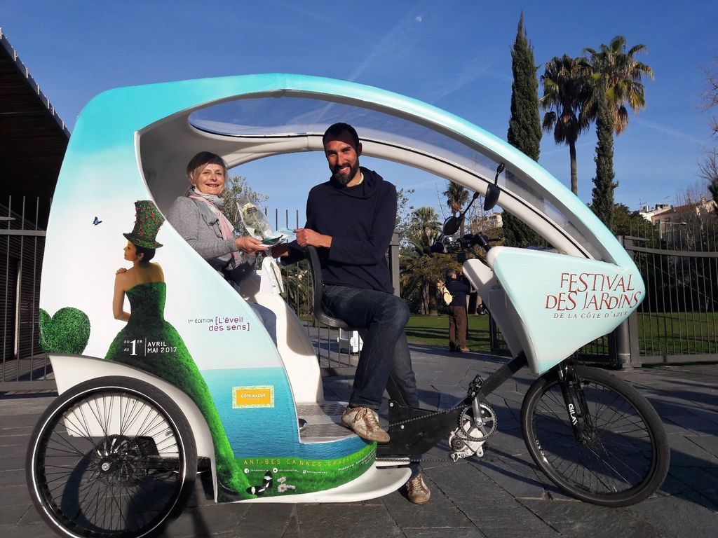 Chauffeured bike services Nice: