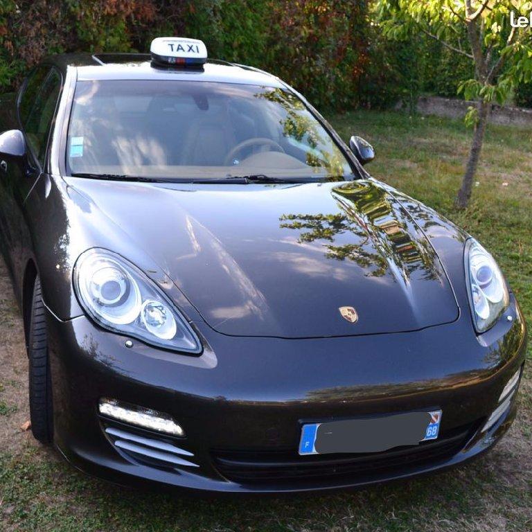 Taxi Mulhouse: Porsche