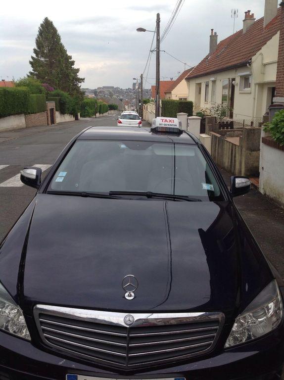 Taxi Saint-Quentin: Mercedes