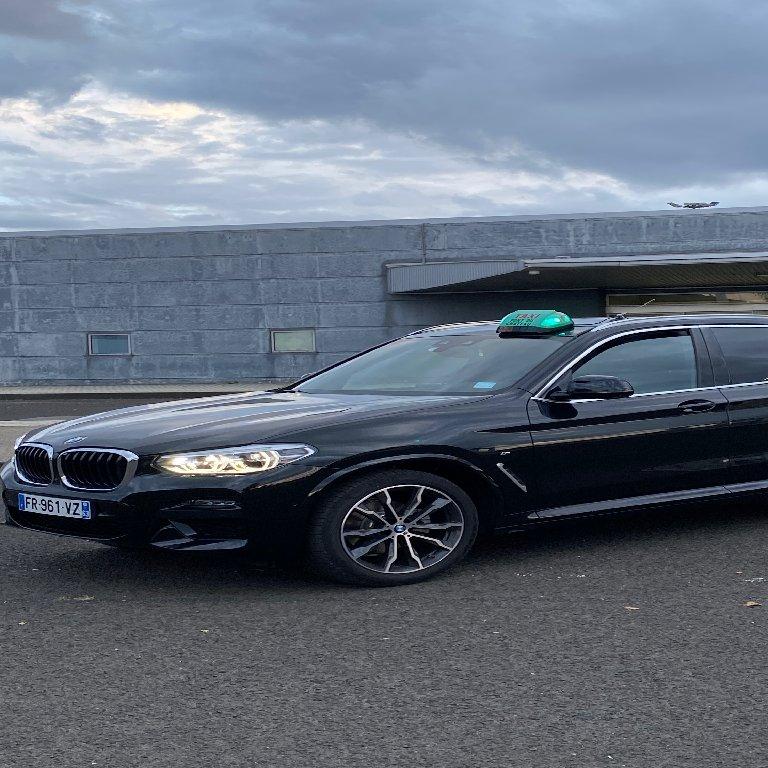 Taxi Pont-du-Château: BMW