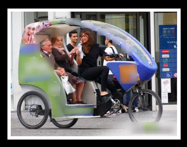 Chauffeured bike services Paris: