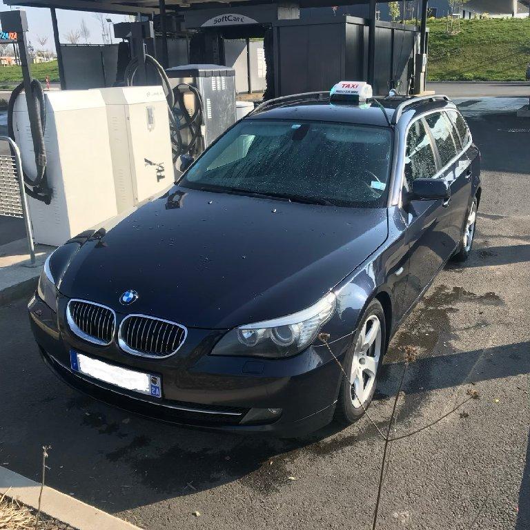Taxi Pouilly-sur-Serre: BMW