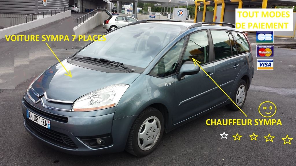 VTC Drancy: Citroën