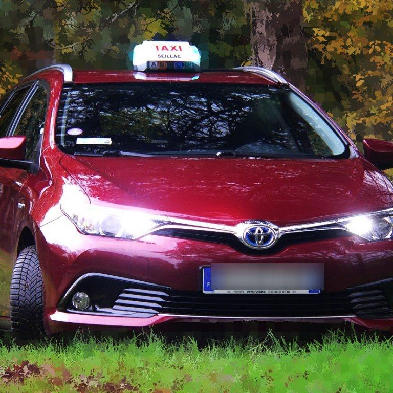Taxi Seillac: Toyota