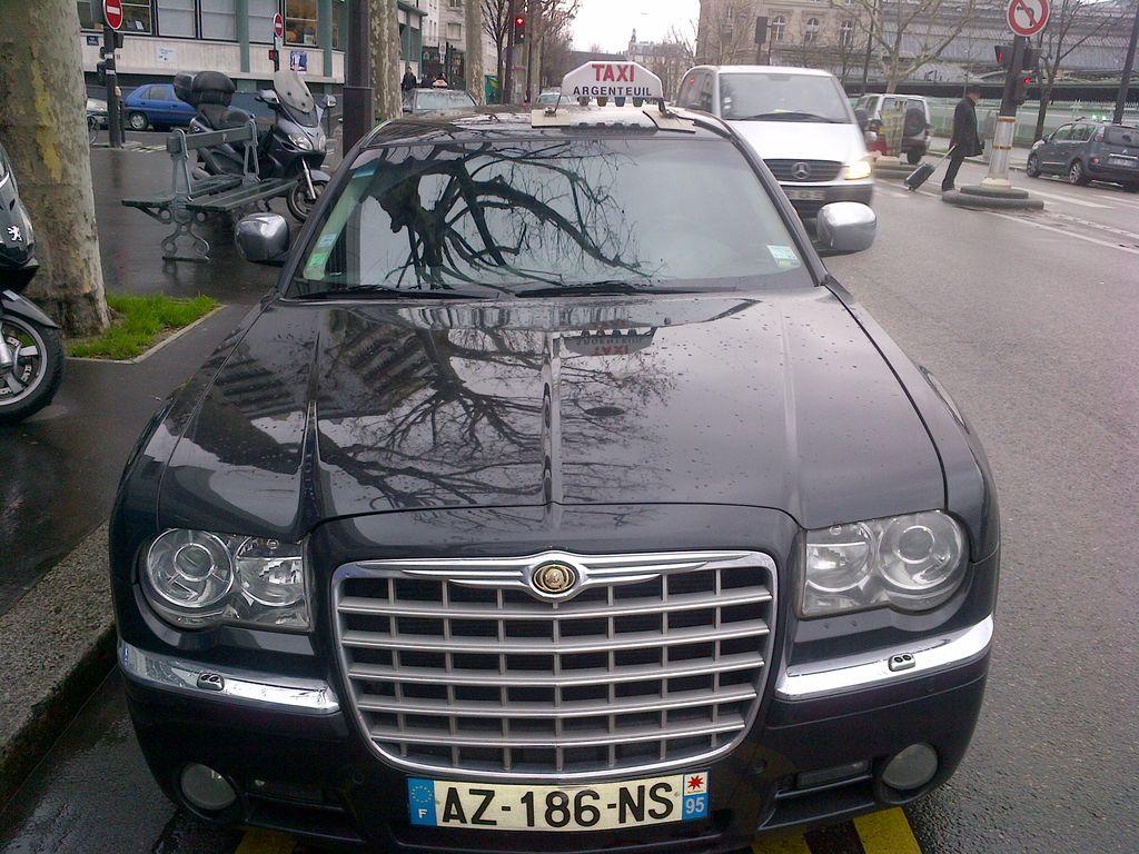 Taxi Auvers-sur-Oise: Chrysler