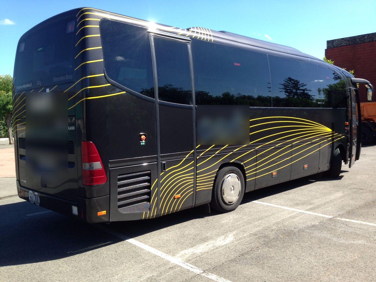 Coach provider Martres-Tolosane: Mercedes