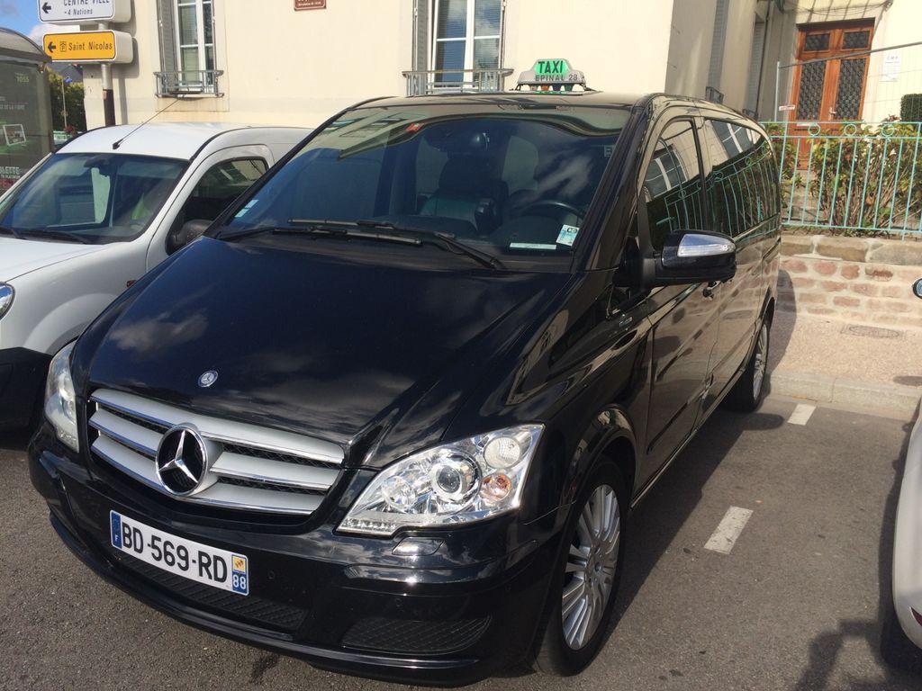 Taxi Épinal: Mercedes